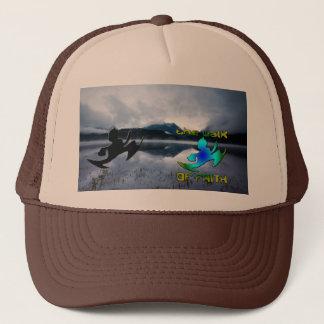 Grey Trucker Hat