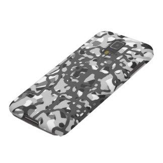Grey Urban Camo Abstract Pattern Galaxy Case
