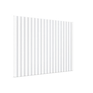 Grey Vertical Stripes Stretched Canvas Prints