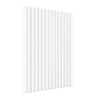 Grey Vertical Stripes Gallery Wrap Canvas