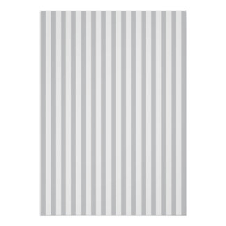 Grey Vertical Stripes Posters