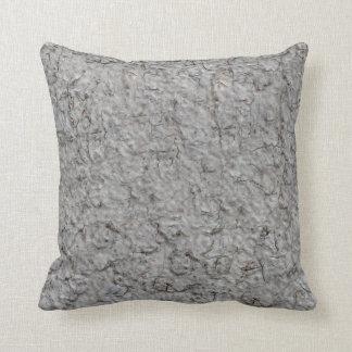 Grey wall background cushion