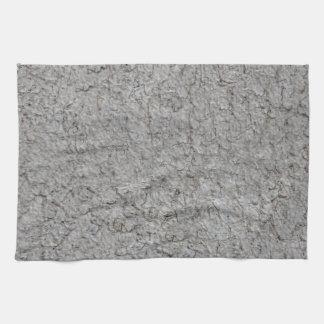 Grey wall Background Tea Towel