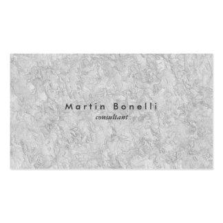 Grey Wall Modern Minimalist Plain Simple Pack Of Standard Business Cards