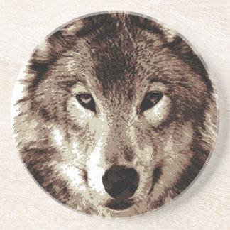 Grey Wolf Beverage Coaster