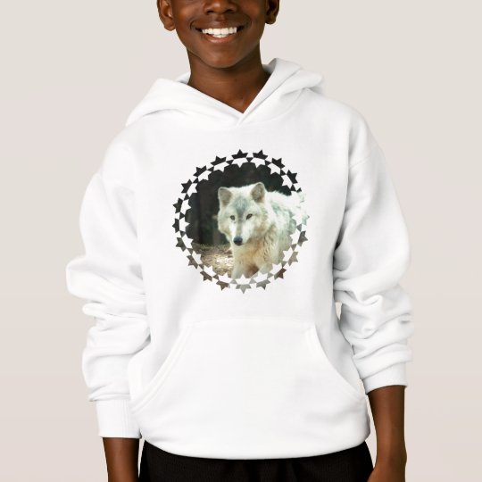 Grey Wolf Children's Hooded Sweatshirt