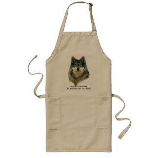 GREY WOLF Collection Long Apron