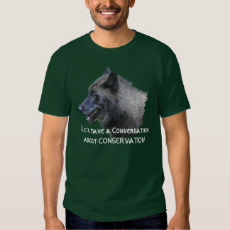 Grey Wolf Conservation Wildlife Supporter T-Shirt