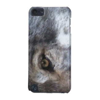 Grey Wolf Eye Wildlife-supporter Ipod Touch Case