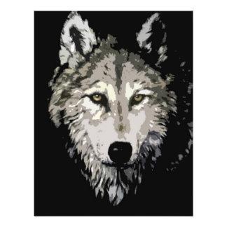 Grey Wolf Flyer Design