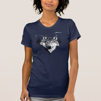 Grey Wolf in the Wild T-shirts
