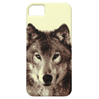 Grey Wolf iPhone 5 Case