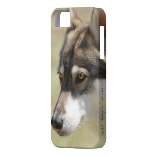 Grey Wolf iPhone 5 Cover