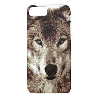 Grey Wolf iPhone 7 Case