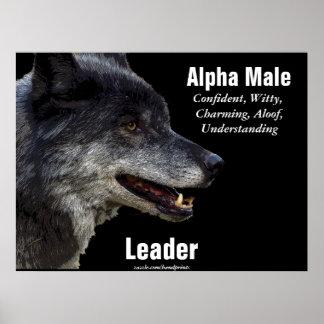 Grey Wolf Motivational Poster