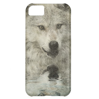 Grey Wolf Pencil Sketch Wildlife Art Gift iPhone 5C Case