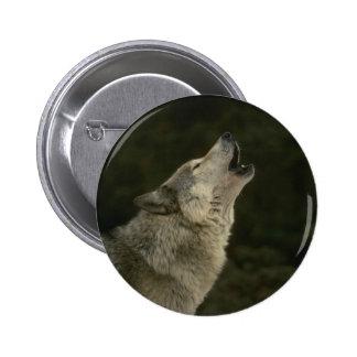 Grey Wolf Pins