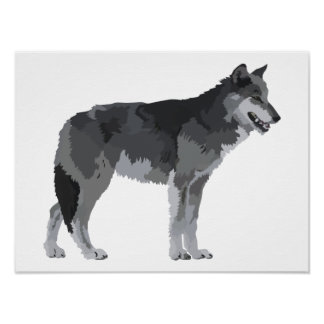 Grey Wolf Posters