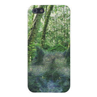 Grey Wolf Spirit Wildlife-supporter iPhone Case Cover For iPhone 5/5S