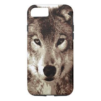 Grey Wolf Tough iPhone 7 Case