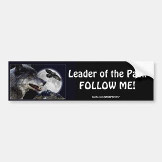 Grey Wolf Wildlife and Nature Design Bumper Sticker