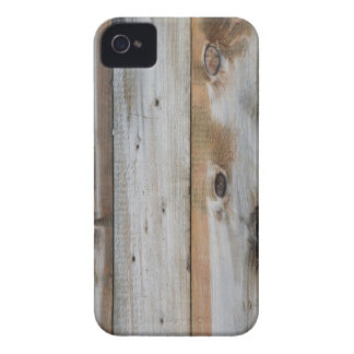 GREY WOOD TEXTURE iPhone 4 CASE