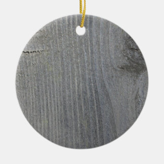 Grey Wooden Board Christmas Tree Ornament