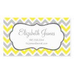 Grey & Yellow Colourful Chevron Stripes