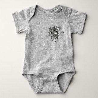 grey zebra baby body baby bodysuit