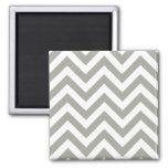 Grey Zig Zag Chevrons Pattern