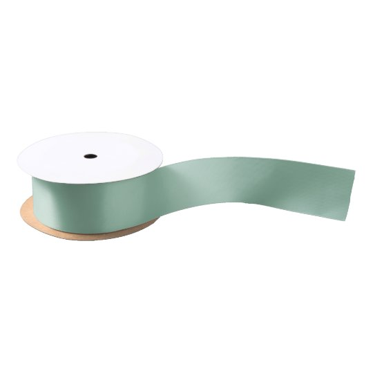 Greyed Jade Traditional Complementary Colour Satin Ribbon