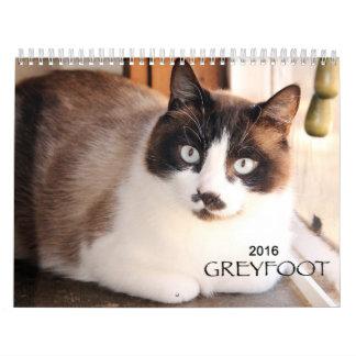 Greyfoot Cat Rescue 2016 Calendar
