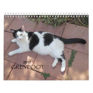 Greyfoot Cat Rescue 2017 Calendar