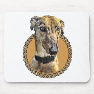 Greyhound 001 mouse mat