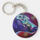 Greyhound #1 key ring