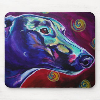 Greyhound #1 mouse pad