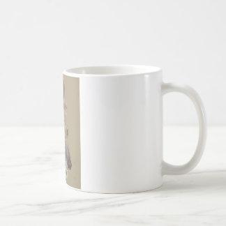 Greyhound 2 basic white mug