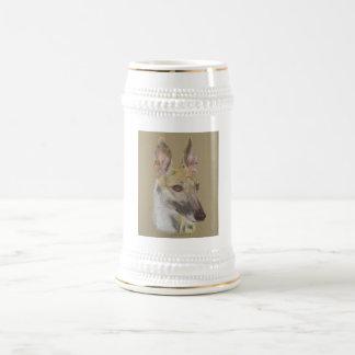 Greyhound 2 beer steins