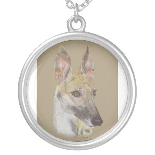 Greyhound 2 custom necklace