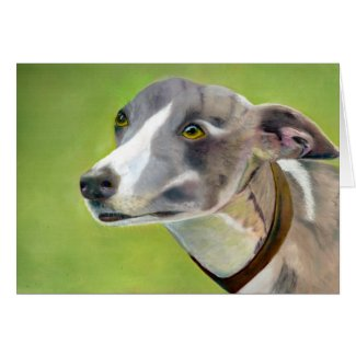 Greyhound art card (a395) title=
