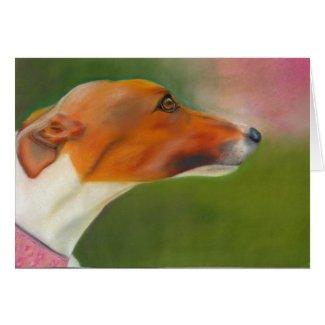 Greyhound art card (a52) title=