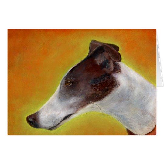 Greyhound art card (a94)