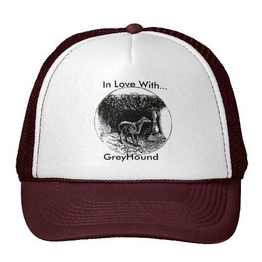 Greyhound Baseball Cap Hats