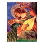 Greyhound (br2) - Mandolin Angel Postcard