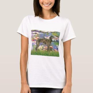 Greyhound (br8) - Lilies 2 T-Shirt