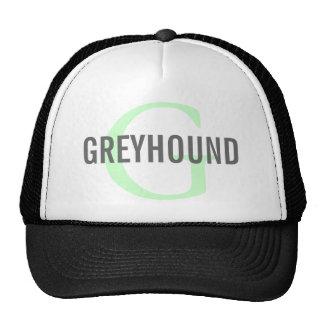 Greyhound Breed Monogram Design Cap
