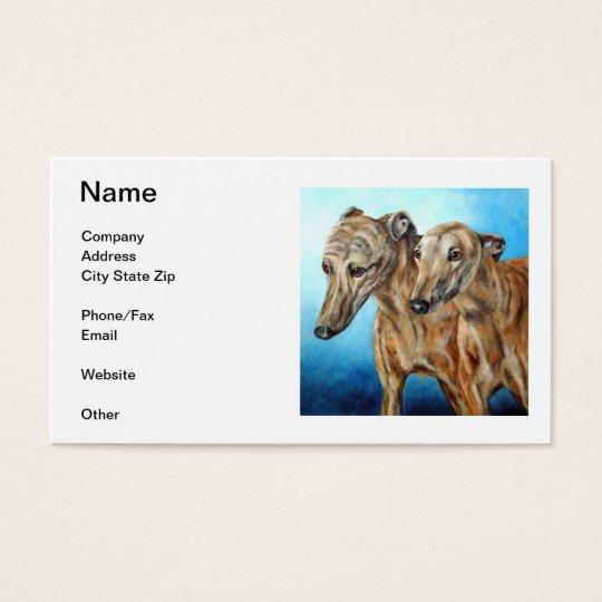 Greyhound Business Card