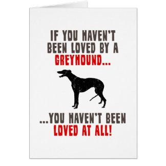 Greyhound Card