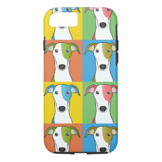 Greyhound Cartoon Pop-Art iPhone 7 Case