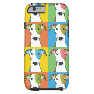 Greyhound Cartoon Pop-Art Tough iPhone 6 Case